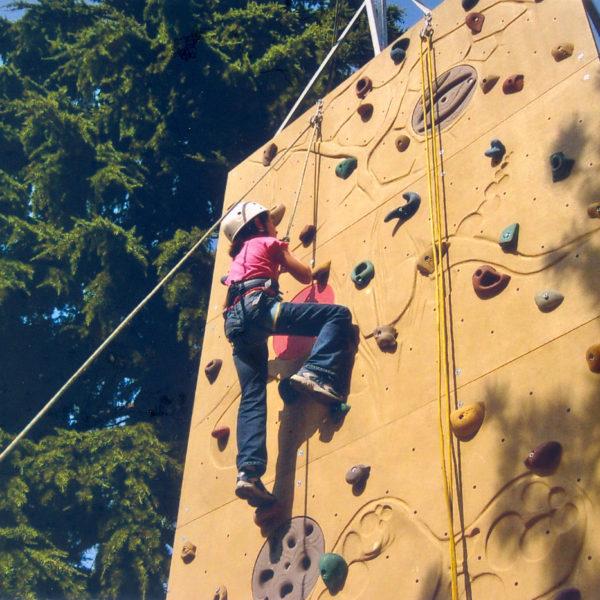Parete di arrampicata mobile Gruppo Alpinistico La Cordata